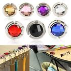 Multicolor Crystal Rhinestone Folding Handbag Purse Bag Hook Hanger Holder New