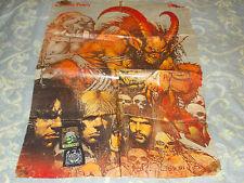 Slayer poster Vintage plus 2 vintage patches Metallica Iron Maiden