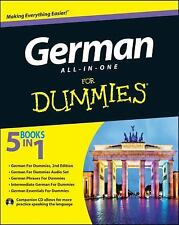 German All-in-One For Dummies, with CD  (UK IMPORT)  BOOK NEW