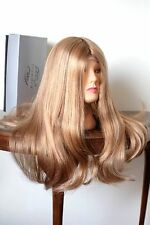 100% human hair long wig by Trendco Diamond rooted blonde w highlights (245) new