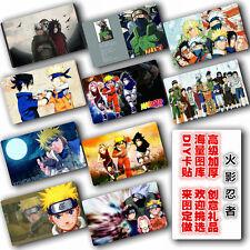 10pcs 5.4x8.5cm Anime NARUTO Uchiha Madara/Itachi/Sasuke/Kakashi card stickers