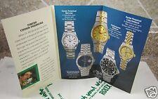 Vintage 1991 Rolex Seadweller 4000 Tri-Fold Booklet English