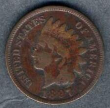 USA Indian Head 1 Cent 1897