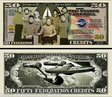 STAR TREK MEMORABILIA  - 50TH ANNIVERSARY Banknote/Bill - Collectors Pack