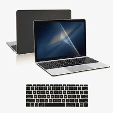 "3 IN 1 Black Matte Case + Keyboard Cover + LCD for New Macbook 12"" Retina A1534"