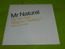 MR NATURAL - DO YOU FEEL WHAT I'M THINKING?  !!!!!  !CD PROMO !!!!!!!!!!!!!!!!