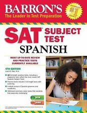 NEW - Barron's SAT Subject Test Spanish, 4th Edition: with MP3 CD