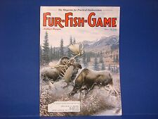Fur-Fish-Game,February 2001,Alaska Moose Hunt Kangaroo Skinner Knives