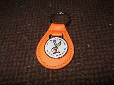 1969 1970 PLYMOUTH ROAD RUNNER SUPERBIRD BIRD LOGO KEYCHAIN KEYRING PUMPKIN