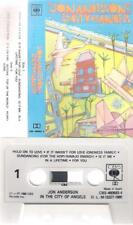 JON ANDERSON In the city of .. DIFFICULT SPANISH cassette  YES PROGRESSIVE ROCK