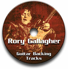 RORY GALLAGHER BLUES ROCK STIL GITARRE PLAYBACK TITEL AUDIO CD JAM TRAXS