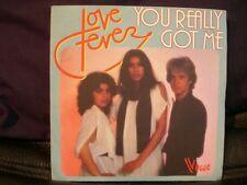 VINYL 45 T – DISCO FUNK – LOVE FEVER – YOU REALLY GOT ME PART 1 & 2 – VOGUE 1978