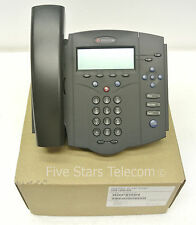 Polycom Soundpoint IP 430 VoIP SIP Phone Telephone PoE (2200-12430-025)
