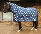 Rhinegold Star lightweight combo turnout rug/rain sheet - horse & pony sizes