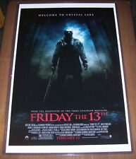 Friday the 13th Remake Michael Bay 11X17 Movie Poster