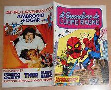 ED.CORNO SERIE  IL GIORNALINO DELL'UOMO RAGNO  N° 30  1981  !!!!!