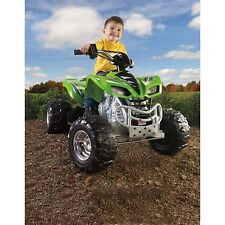 Fisher-Price Power Wheels Kawasaki KFX 12V Battery Ride On Kids ATV 4 Wheeler
