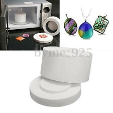 Mini Ceramic Fibre Microwave Kiln Stained Glass Jewelry Fusing Supplies Tool