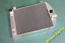 Fit Ford truck hot rod w/305 V8 engine 1932 aluminum radiator 70mm up to 1000HP