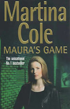 Martina Cole Maura's Game Very Good Book