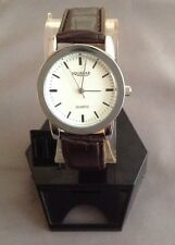 Men/Women/girls/boys/sportsWrist Watch With Date Faux Leather Band FREE SHIPPING