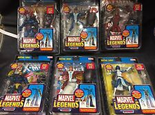 MARVEL LEGENDS SENTINEL SERIES BAF COMPLETE SET OF 7 + 2 VARIANT MOC FIGURES M4