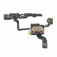 NEW Replacement Power Button Flex Cable With Ear Speaker & Bracket For iPhone 4