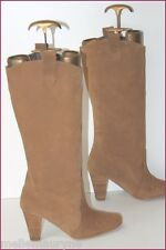 MINELLI Bottes Daim Marron Caramel T 38 BE