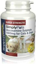 SimplySupplements Glucosamine (for Cats/Dogs) 1000mg 240 Capsules (S909)