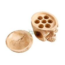 New Skull Tattoo Pigment Ink Cup Caps Holder Holds 7 Ink Cups USA Free Shipping
