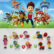 8pcs Set Cute PAW PATROL Cartoon Action Figures Doll Kids Children Baby Toy Gift