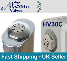Aladdin self bleed auto HV30C chrome radiator valve PACK OF 2 VALVES