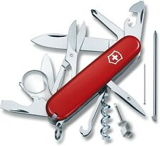Victorinox Swiss Army 53792, 91mm Knife Red Explorer Plus, New in Box