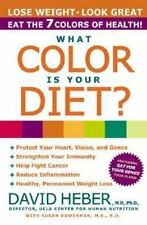 What Color Is Your Diet? Heber, David, MD, PhD. Paperback