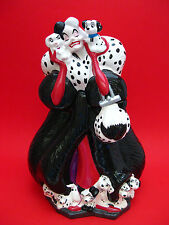 Cookie Jar -  Disney Classic CRUELLA 102 Dalmatians The Villains Series NIB