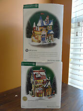 Dept 56 Acme Toy Factory Jack In The Box Plant No 2 Store Christmas Village Lot