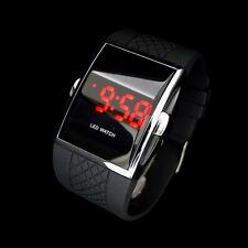 Luxury Sport LED Digital Date Lady Men Women Unisex Silicone Watch Wristwatch