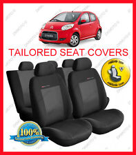 Tailored seat covers for Citroen C1  2005 - 2014  FULL SET grey3