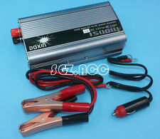 1500W Auto 12V DC to 110V AC Car Power Inverter USB Port