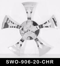 20 Inch Chrome Spinners Wheels Rims Fit Any Car Free S/H