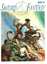 6 issue set - SWORD & FANTASY #1-6 - Robert E. Howard pulp fanzine, Weird Tales