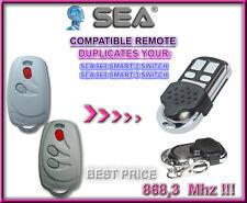 SEA 868 SMART 2, SMART 3 SWITCH 868,3Mhz Compatible Télécommande / Cloner