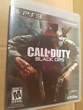 Call of Duty: Black Ops (Sony PlayStation 3, 2010) BRAND NEW PS3 GAME ORIG LABEL