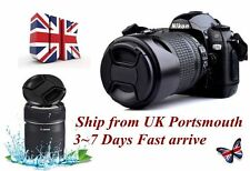 55mm Center-Pinch Snap-On Front Lens Cap Cover For NIKON Canon Sony  UK