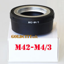 M42 Lens Adapter to Micro Four Thirds M4/3 for EP1 EP2 EPL1 GF1 GF2 G1 G2 G3 GH1