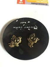 $60 Marc Jacobs Jeweled Owl Stud Earrings