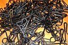 LOT OF 25 Black Plastic Non Slip Sock Hanger Clip Hook Retail Shopping Supply