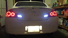 White LED Reverse Lights/Back Up For Infiniti G37 2008-2013 2010 2011 2012 2013