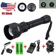 OSRAM 850nm IR Infrared Light Zoomable Flashlight Night Vision Hunting Torch