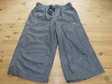 NIKE 3/4 LENGTH 100% POLYESTER TRACKSUIT TROUSERS BOTTOMS SMALL *BNWT*